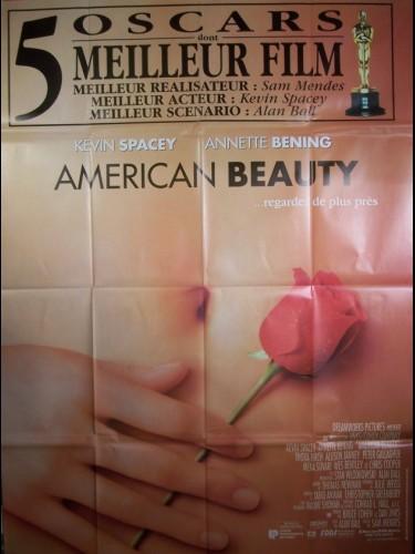 Affiche du film AMERICAN BEAUTY (OSCAR)
