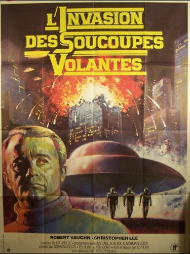 Affiche du film INVASION DES SOUCOUPES VOLANTES (L') - STARSHIP INVASIONS