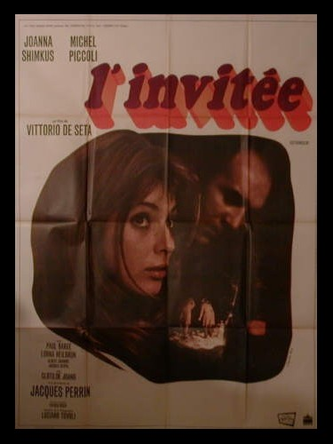 Affiche du film INVITEE (L')
