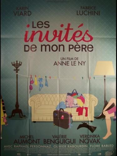Affiche du film INVITES DE MON PÈRE (LES)