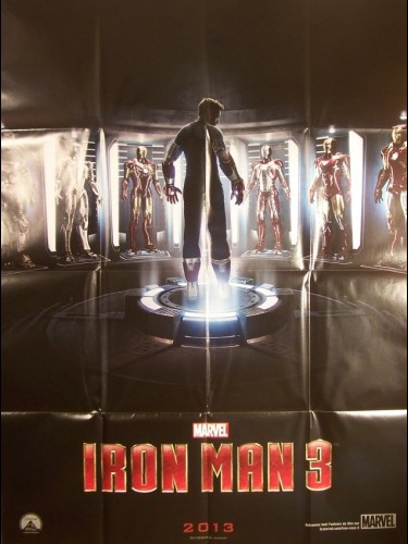 Affiche du film IRON MAN 3