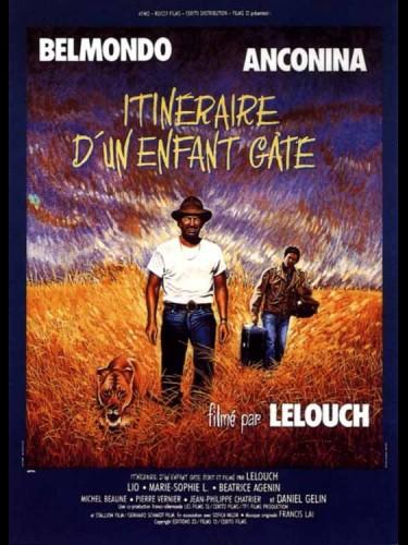 Affiche du film ITINERAIRE D'UN ENFANT GATE