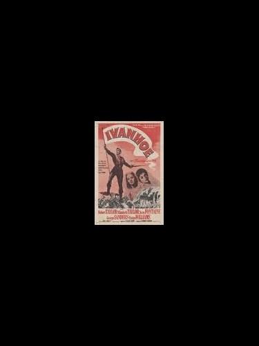 Affiche du film IVANOHE - IVANOHE
