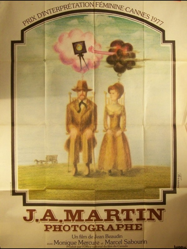 Affiche du film J.A. MARTIN PHOTOGRAPHE