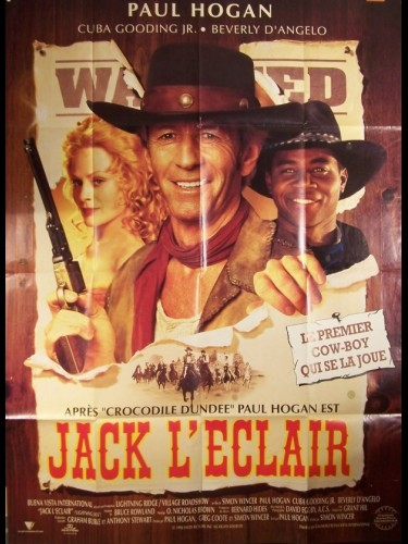 Affiche du film JACK L'ECLAIR - LIGHTNING JACK