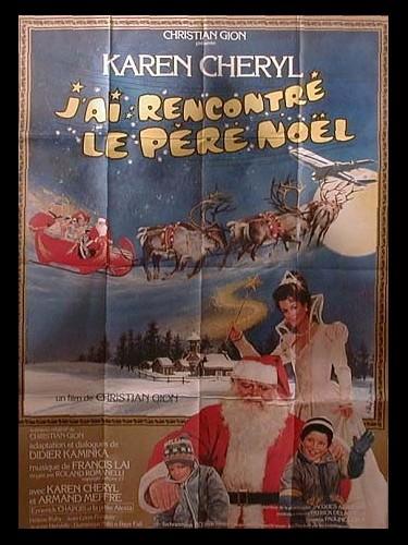 Affiche du film J'AI RENCONTRE LE PERE NOEL