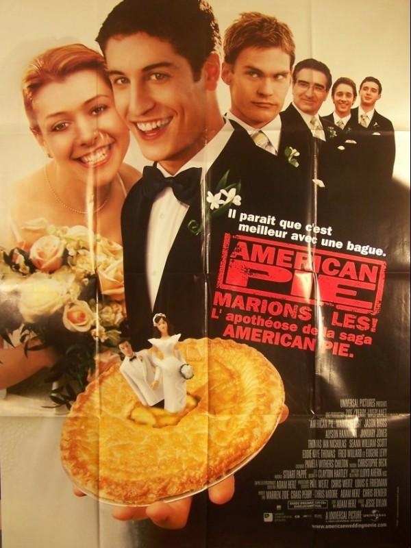 Affiche du film AMERICAN PIE- MARIONS LES -
