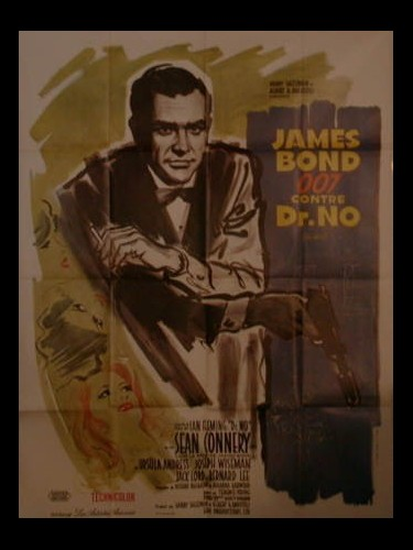 Affiche du film JAMES BOND 007 CONTRE DR. NO - DR. NO