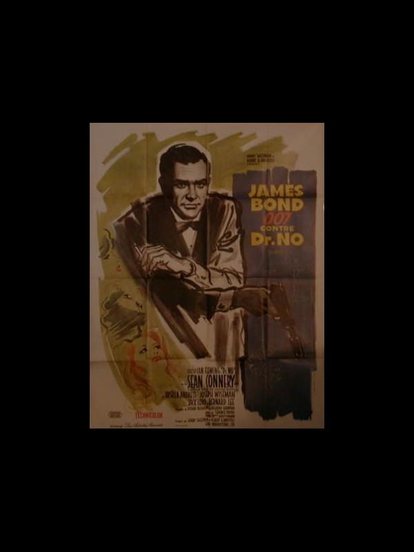 Affiche du film JAMES BOND 007 CONTRE DR. NO - DR. NO