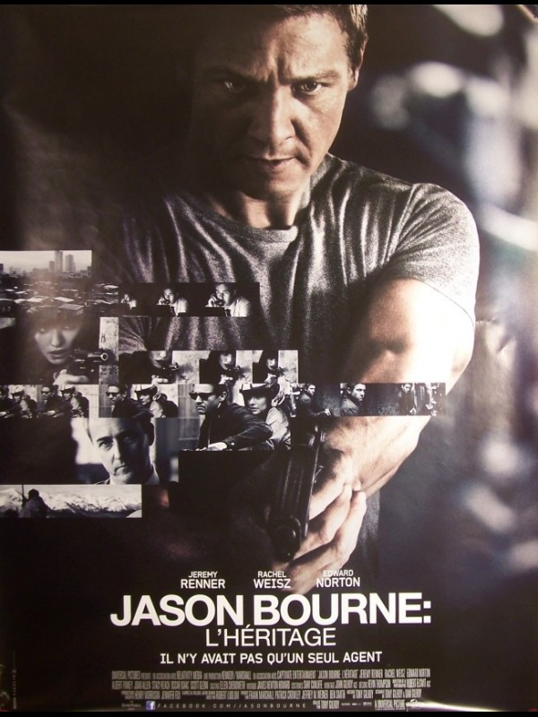 Affiche du film JASON BOURNE -L'HERITAGE- - THE BOURNE LEGACY