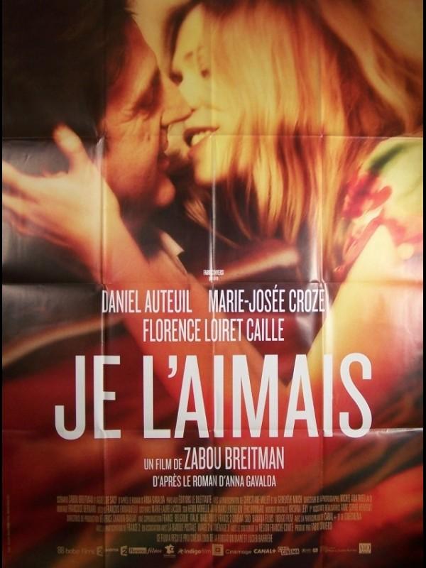 Affiche du film JE L'AIMAIS