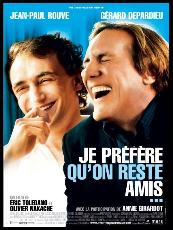 Affiche du film JE PREFERE QU'ON REST AMIS
