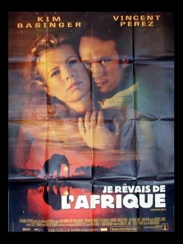 Affiche du film JE REVAIS DE L'AFRIQUE - I DREAMED OF AFRICA