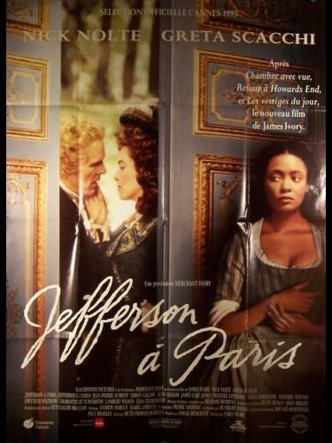 Affiche du film JEFFERSON A PARIS - JEFFERSON IN PARIS