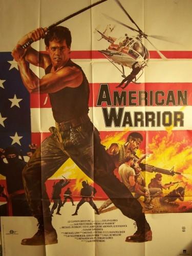 Affiche du film AMERICAN WARRIOR - AMERICAN NINJA