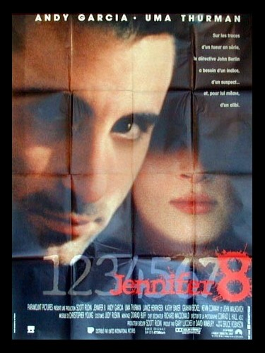 Affiche du film JENNIFER 8 - J3NNIER EIGHT