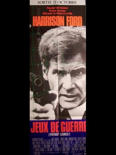 Affiche du film JEUX DE GUERRE