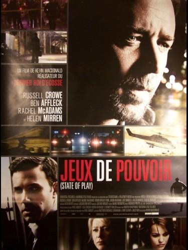 Affiche du film JEUX DE POUVOIR - STATE OF PLAY