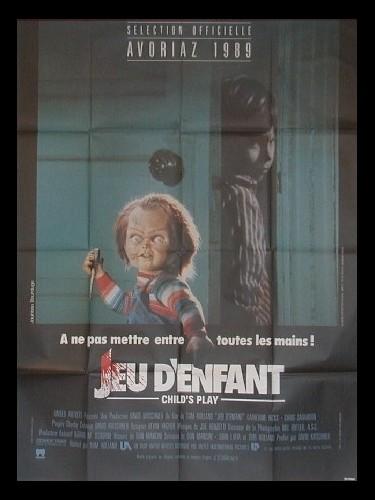 Affiche du film JEUX D'ENFANTS (CHUCKY)