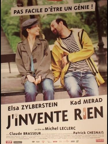 Affiche du film J'INVENTE RIEN