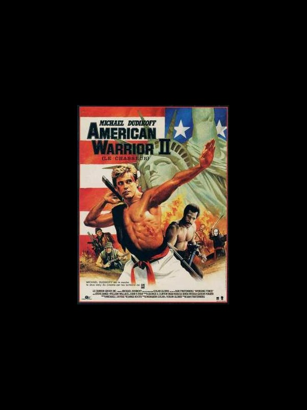 Affiche du film AMERICAN WARRIORS 2 - AVENGING FORCE
