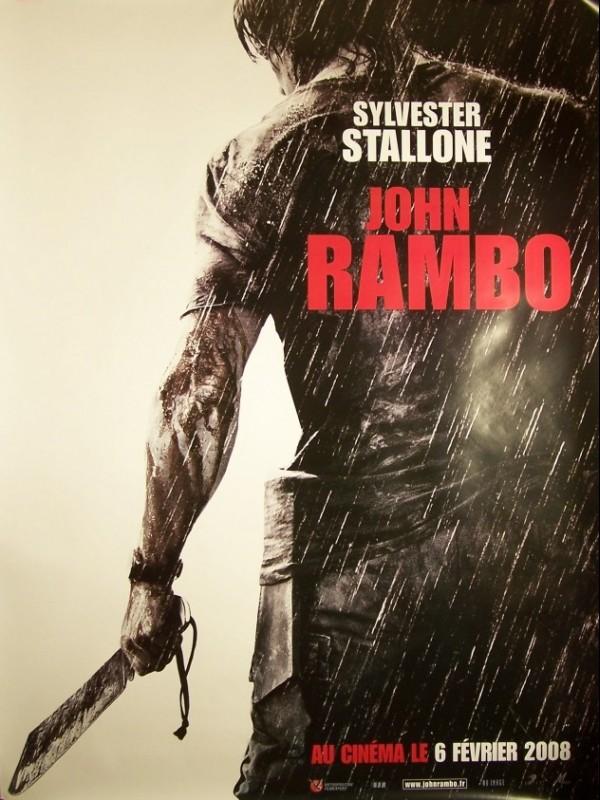 Affiche du film JOHN RAMBO