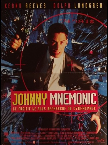 Affiche du film JOHNNY MNEMONIC