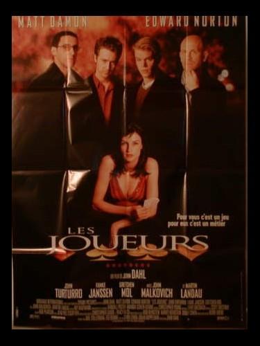 Affiche du film JOUEURS (LES) - ROUNDERS