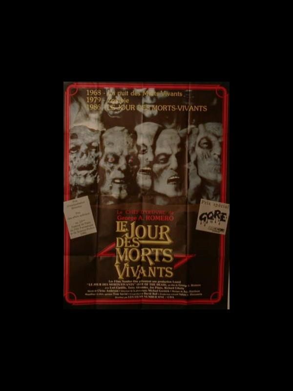 Affiche du film JOUR DES MORTS VIVANTS (LE) - DAY OF THE DEAD