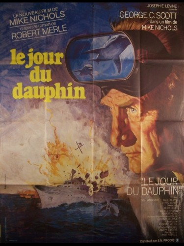 Affiche du film JOUR DU DAUPHIN (LE) - THE DAY OF THE DOLPHIN