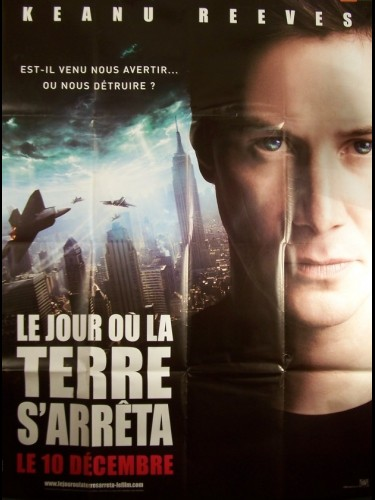 Affiche du film JOUR OU LA TERRE S'ARRETERA (LE) - THE DAY THE EARTH STOOD STILL
