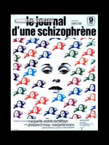 Affiche du film JOURNAL D UNE SCHIZOPHRENE(LE)