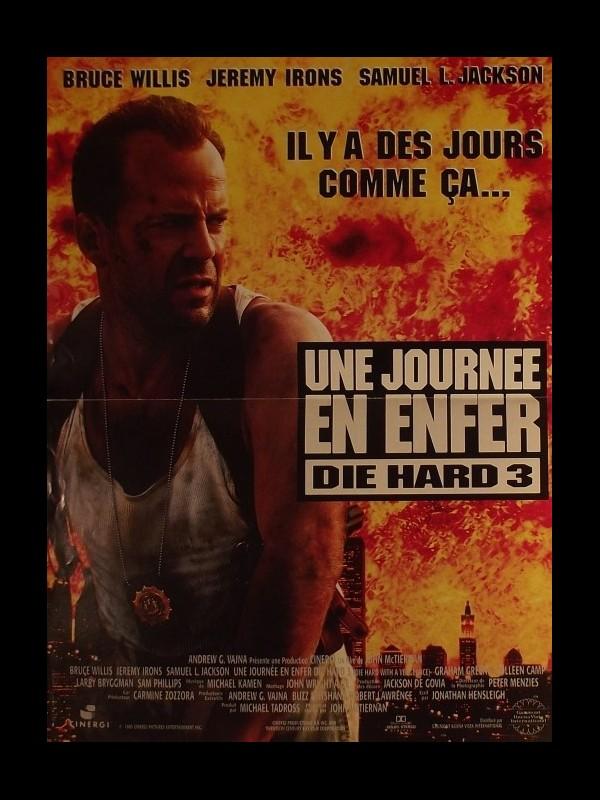 Affiche du film JOURNEE EN ENFER (UNE) - DIE HARD: WITH A VENGEANCE