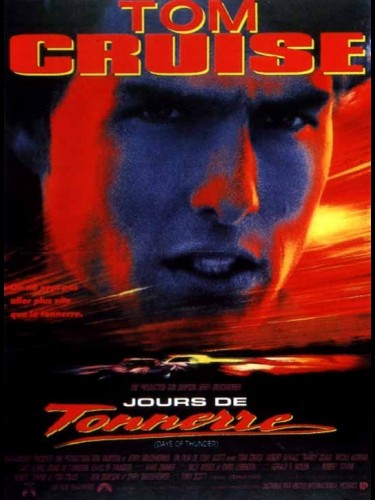 Affiche du film JOURS DE TONNERRE - DAYS OF THUNDER
