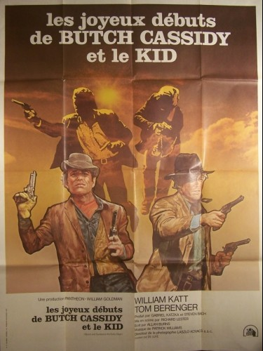 Affiche du film JOYEUX DEBUTS DE BUTCH CASSIDY,,,,,, - BUTCH AND SUNDANCE: THE EARLY DAYS