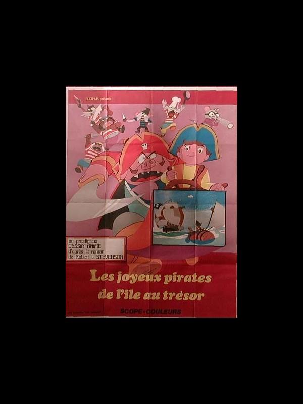 Affiche du film JOYEUX PIRATES DE L'ILE AU TRESOR (LES) - DOBUTSU TAKARAJIMA