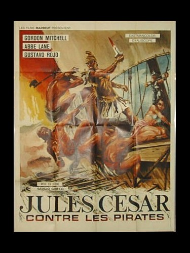 Affiche du film JULES CESAR CONTRE LES PIRATES