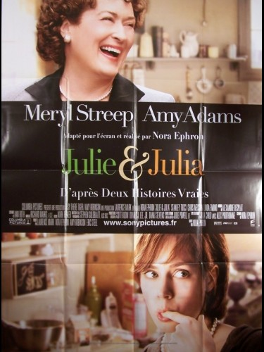 Affiche du film JULIE ET JULIA