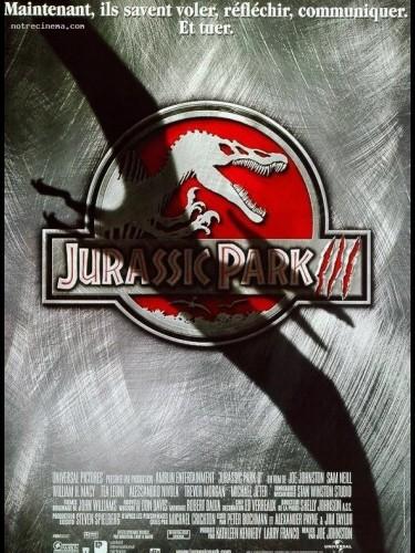 Affiche du film JURRASIC PARK 3