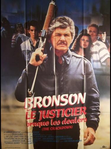Affiche du film JUSTICIER BRAQUE LES DEALERS (LE) - DEATH WISH 4: THE CRACKDOWN