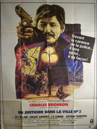 Affiche du film JUSTICIER DANS LA VILLE 2 (UN) - DEATH WISH II