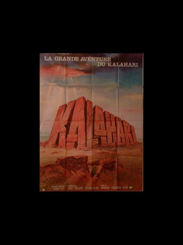Affiche du film KALAHARI - LA GRANDE AVENTURE DU KALAHARI