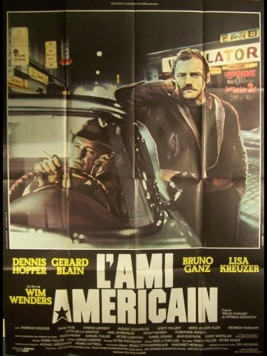 Affiche du film AMI AMERICAIN (L') - THE AMERICAN FRIEND
