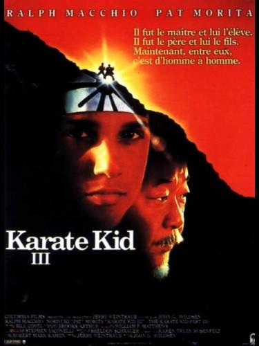 Affiche du film KARATE KID 3