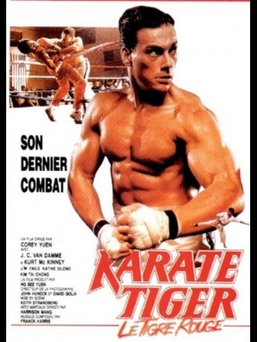 KARATE TIGER LE TIGRE ROUGE - NO RETREAT, NO SURRENDER