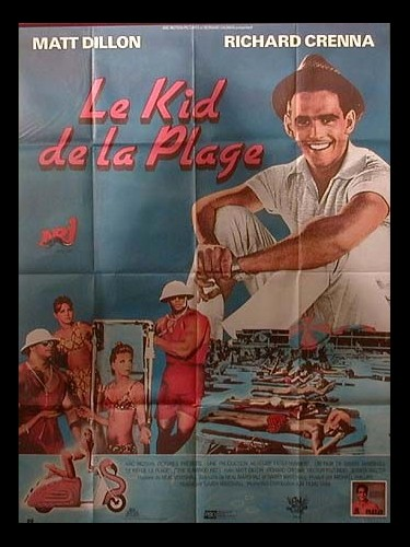 Affiche du film KID DE LA PLAGE (LE) - THE FLAMINGO KID