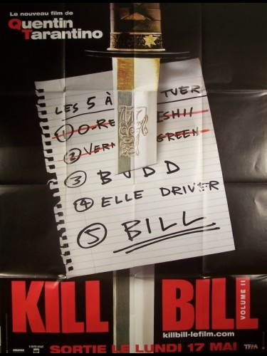 Affiche du film KILL BILL 2