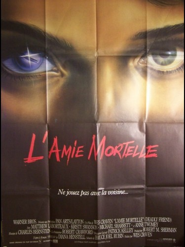 Affiche du film AMIE MORTELLE (L') - DEADLY FRIEND