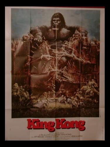 Affiche du film KING KONG