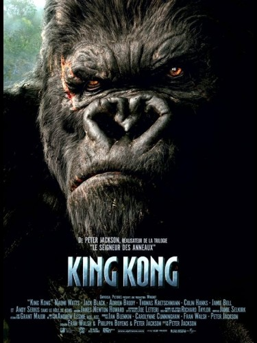 Affiche du film KING KONG - KING KONG